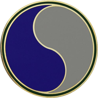 29th Infantry Division (United States) - 29th ID's combat service identification badge