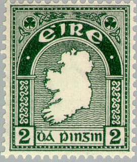 Postage stamps of Ireland Stamps issued by the Republic of Ireland