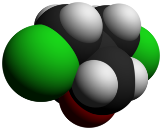 3,3-Bis(chloromethyl)oxetane - Image: 3,3 Bis(chloromethyl)oxe tane 3D vd W by AHRLS 2012