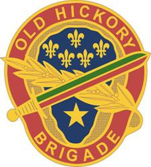 30th Armored Brigade Combat Team - Image: 30Armored Bde DUI