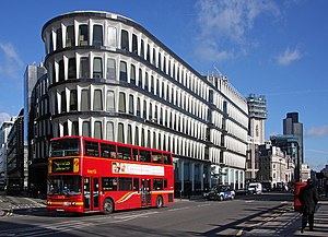 30 Cannon Street - View in 2009 from south-west