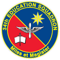 34 Education Sq emblem.png