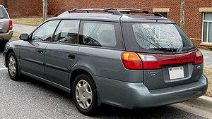 Subaru Legacy (third generation) - 2000–2002 Subaru Legacy L wagon (US)