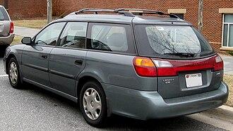 Subaru Legacy (third generation) - 2000–2002 Subaru Legacy L wagon