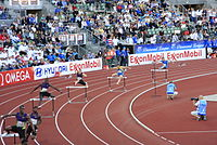 400 m hurdles at Bislett Games 2010.jpg