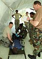 440th Airlift Wing Medical Squadron treats North Carolina CAP cadet.JPG
