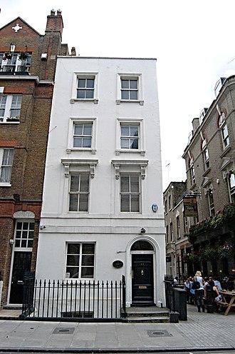 Ezra Pound - 48 Langham Street, London W1