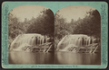4th, or Rocky Falls, Ithaca Gorge, Ithaca, N.Y, by Eagles, J. D., 1837-1907.png