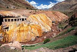 Puente del Inca rock formation, Mendoza