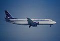 52ab - Aeroflot Boeing 737-4M0; VP-BAJ@ZRH;27.02.1999 (4974377966).jpg