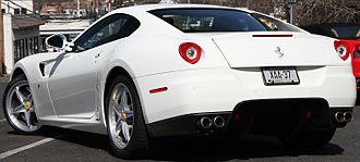 Ferrari 599 - Ferrari 599 HGTE