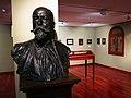 640 Casa Museu Benlliure (València), bust de J. Benlliure Gil, de Marià Benlliure.jpg