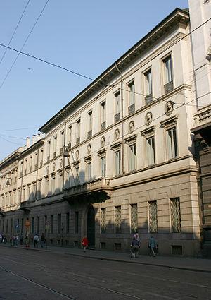 Palazzo Brentani - Palazzo Brentani, Milan