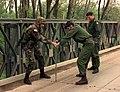 990426-A-1958F-003 - U.S. soldier assists Hungarian Army engineers in repairing Brcko Bridge in Bosnia and Herzegovina.jpg
