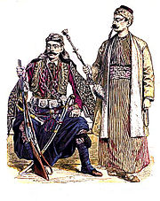 Inhabitants of the Levant, late nineteenth century.