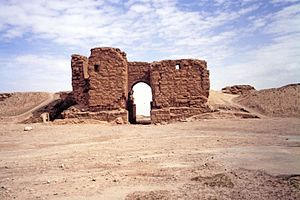 Dura-Europos - The Palmyrene Gate, the main entrance to the city of Dura-Europos.