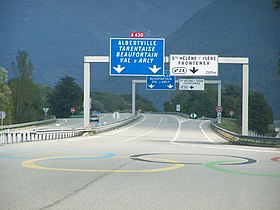 Image illustrative de l'article Autoroute A430 (France)