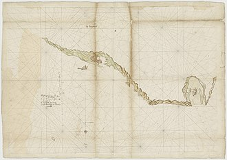 Fort San Domingo - Map of the Spanish fort at Tamsui, later in hands of the VOC