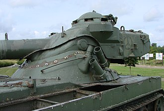 AMX-13 - Close view of oscillating turret