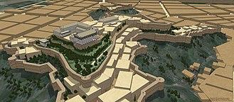 Artaxata - Model of the Acropolis of Artaxata
