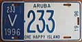ARUBA 1996 -LICENSE PLATE - Flickr - woody1778a.jpg