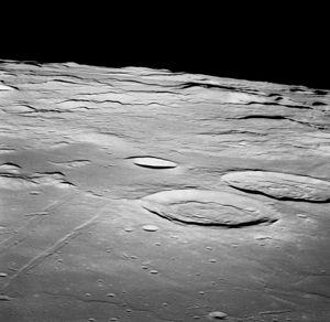 Мощный взрыв на Луне