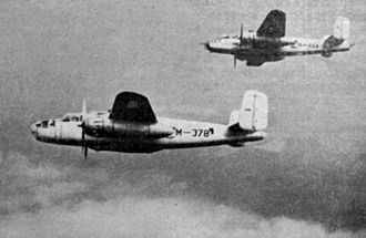 Indonesian Air Force - B-25 Mitchell bombers of the AURI in the 1950s