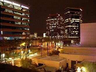 Arizona Center - Arizona Center at night