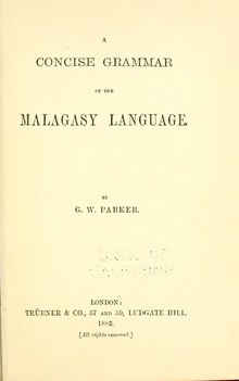 A Concise Grammar of the Malagasy Language.djvu