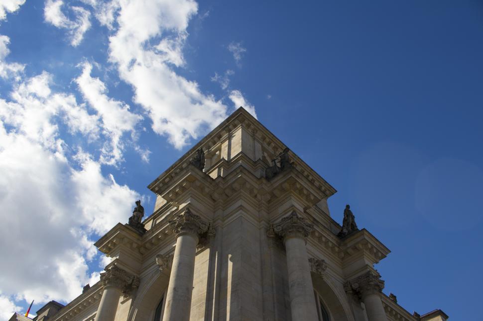 A Corner of Bundestag, Aug 2016