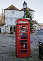 A K6 phone box Thaxted Essex England.jpg