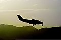 A U.S. Air Force MC-12 Liberty aircraft assigned to the 4th Expeditionary Reconnaissance Squadron prepares to land at Bagram Airfield, Afghanistan, Aug. 14, 2013 130814-F-IW762-002.jpg