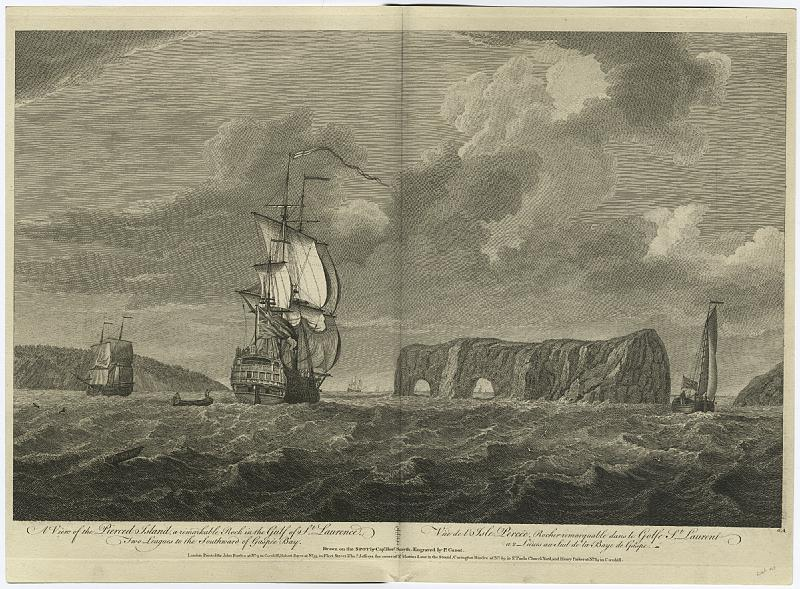 File:A View of the Pierced Island, a remarkable rock in the Gulf of St. Laurence (NYPL b12349138-422973).tiff
