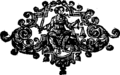 A compleat key to the Dunciad Fleuron T000480-6.png