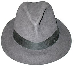 e5a05e87f58f2 A fedora made by Borsalino