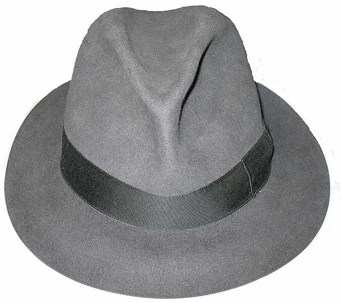 File:A fedora hat, made by Borsalino.jpg