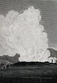 A geyser erupting, Iceland. Engraving by E. Mitchell, 1811, Wellcome V0025218EL.jpg