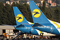 A pair of Ukraine International Airlines Boeing 737-800s at Tivat Airport.jpeg