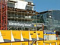 A photo of the construction of the new Passenger terminal of Amsterdam city, 2005.jpg