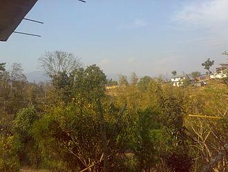 Bal Mandir - Image: A view of Dewantar From Balmadir,Dhankuta