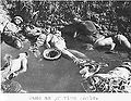 A waterpond filled with the bodies of executed Chinese soldiers who got safety promise by Japanese (b), Nanjing Massacre.jpg