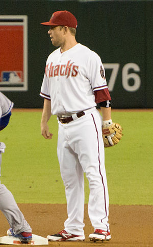 Aaron Hill (baseball) - Hill with the Arizona Diamondbacks