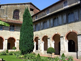 Saint-Sever - Abbey cloister