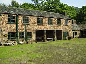 Listed buildings in Sheffield S7 - Image: Abbeydale Industrial Hamlet geograph.org.uk 1038253