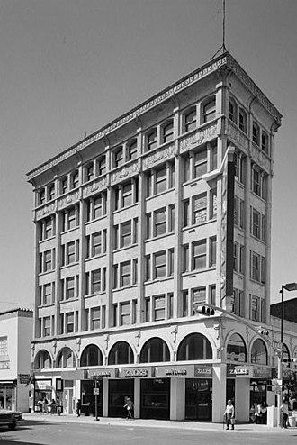 National Register of Historic Places listings in El Paso County, Texas - Image: Abdou Building, El Paso, Texas