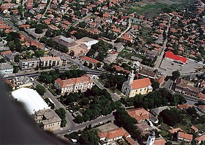 Pest-Pilis-Solt-Kiskun County - Aerial photography: Abony