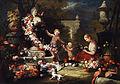 Abraham Brueghel (attr) Blumengabe an Venus.jpg