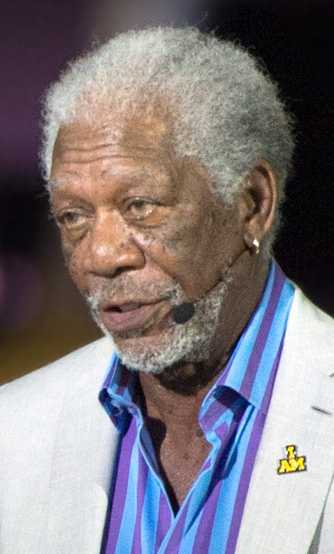 Academy Award-winning actor Morgan Freeman narrates for the opening ceremony (26904746425) (cropped) 3