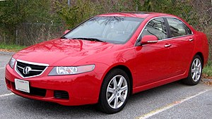 2004-2005 Acura TSX photographed in College Pa...