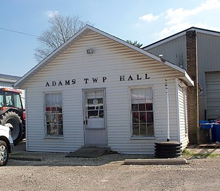Adams Township, Coshocton County, Ohio Township in Ohio, United States